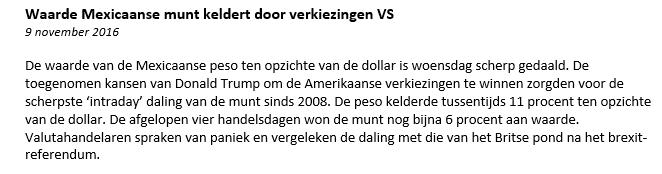 usd-mxn-nieuwsbericht