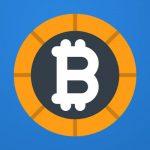 Bitcoins trading app - logo