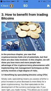 Bitcoin trading app - financieel voordeel